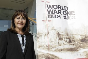 Jordanian theatre director Lina Attel took part in The War that Changed the World