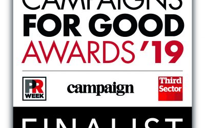 Ringing Remembers has been shortlisted for the 2019 Campaign for Good Awards!