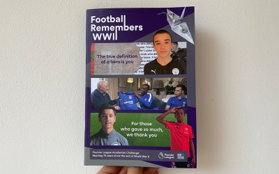 Football Remembers WWII legacy book